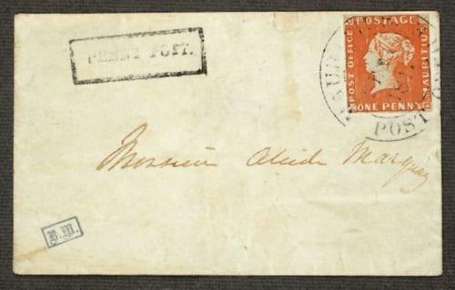 総督夫人レディー・ゴムが出した招待状のうちのひとつ。