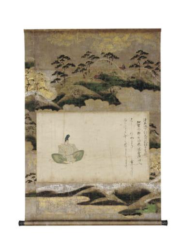 重要文化財 佐竹本三十六歌仙絵 坂上是則 鎌倉時代 13世紀 文化庁 【通期展示】