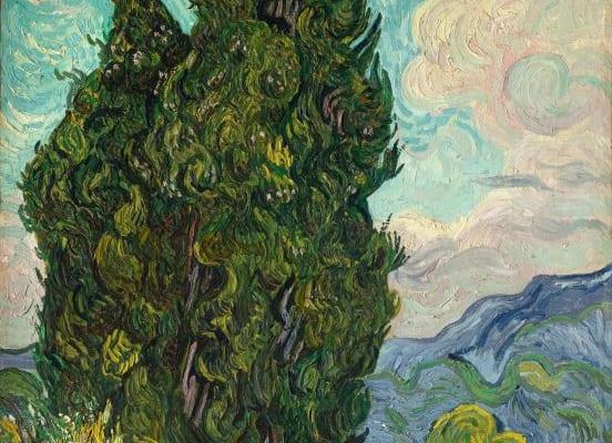 フィンセント・ファン・ゴッホ《糸杉》1889年6月 メトロポリタン美術館 Image copyright (C)The Metropolitan Museum of Art. Image source: Art Resource, NY