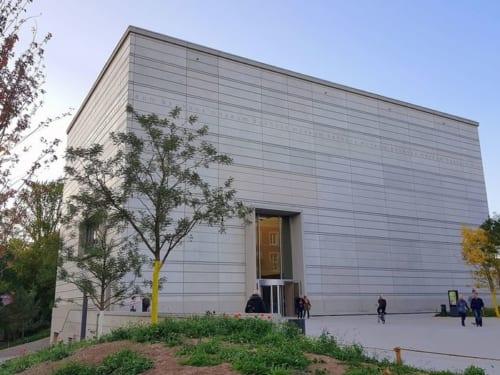 日本滞在経験もあるハイケ・ハナダ氏設計のバウハウス・ミュージアム。