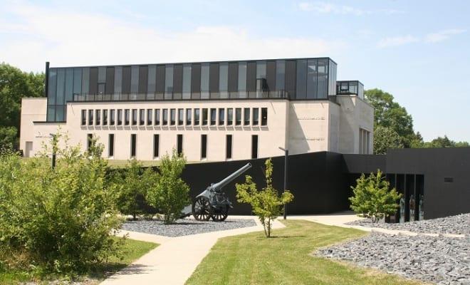 2016年に増築改装したヴェルダン戦場記念館