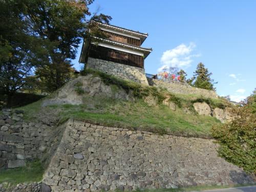 仙石忠政によって上田城の本丸・二の丸が改修された