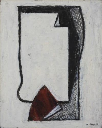 坂田一男《アンサン》1954年 個人蔵