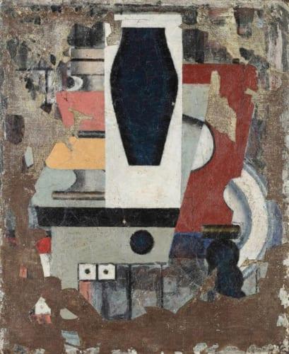 坂田一男《静物II》1934年 大原美術館蔵
