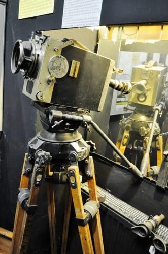 1950年にウィーンで初上映された時に使用されたプロジェクター