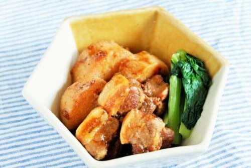 豚バラ肉と長芋のはちみつ黒胡椒煮