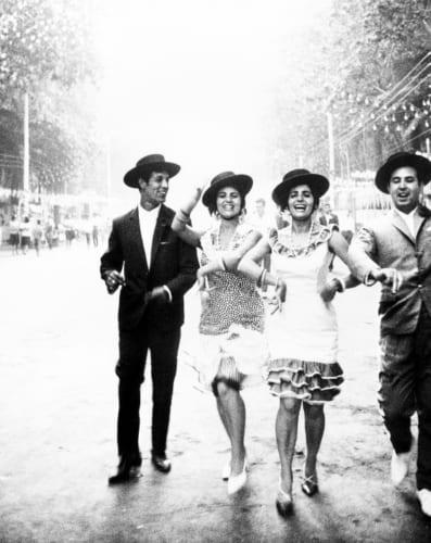 奈良原一高《フィエスタ セビーリャまたはマラガ》<スペイン 偉大なる午後>より 1963-65年 (C)Ikko Narahara