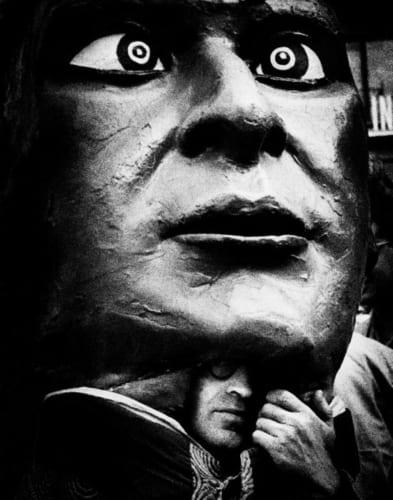 奈良原一高《フィエスタ パンプローナ》<スペイン 偉大なる午後>より 1963-64年 (C)Ikko Narahara