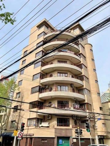 マギーアパート(Magy Apartments)。1936年。上海市徐匯区復興西路24号