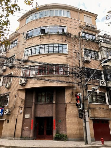 アマイロンアパート。1941年。上海市徐匯区高安路14号