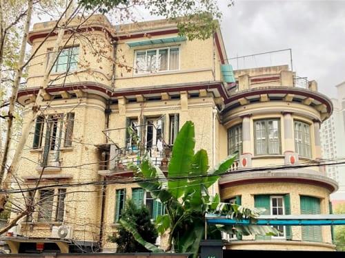 ヌーヴォー邸。1922年。上海市徐匯区襄陽南路525号