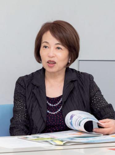 松永真理さん。昭和29年、長崎県生まれ。編集者、セイコーエプソン社外取締役。「iモード」の企画開発を担当。著書『シゴトのココロ』。