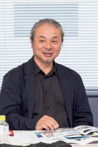 橋本夕紀夫さん。昭和37年、愛知県生まれ。インテリアデザイナー。昭和女子大学非常勤講師。JCD優秀賞受賞。著書『LEDと曲げわっぱ』。
