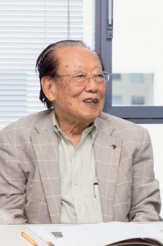 田沼武能さん。昭和4年、東京生まれ。写真家。木村伊兵衛に師事。東京工芸大学芸術学部名誉教授。平成15年、文化功労者に顕彰された。