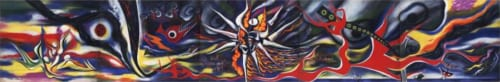 岡本太郎《明日の神話》1968年 川崎市岡本太郎美術館蔵