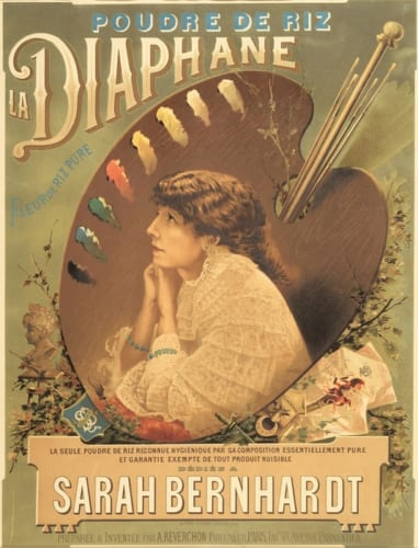 アルフレッド・クラレー《白粉「ディアファーヌ」》1890年頃 ダニエル・ラドゥイユ・コレクション