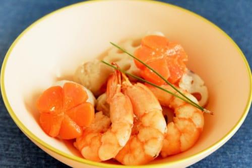海老と野菜の旨煮