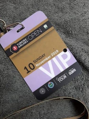 ツアー観戦VIPカード