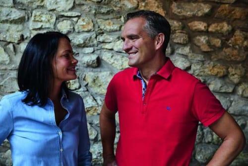 現当主のフィリップ・ヴィットマンさんは15代目。2014年にはワイン専門誌で「ワインメーカー・オブ・ザ・イヤーに選出」。妻もワイナリーを手伝う。