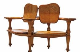 アントニ・ガウディ(デザイン)、カザス・イ・バルデス工房《カザ・バッリョーの組椅子》1904-06年頃 カタルーニャ美術館蔵  (C)Museu Nacional d'Art deCatalunya,Barcelona(2019)