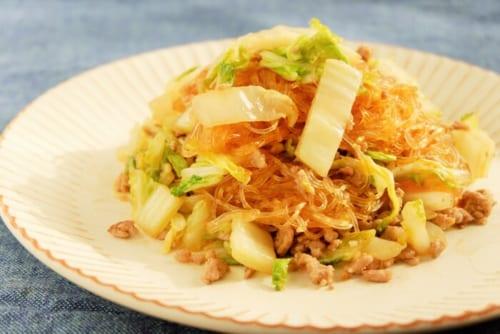 白菜と春雨の中華炒め