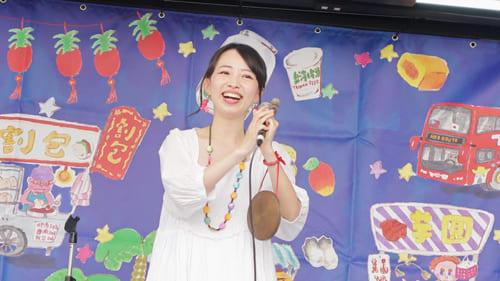 「大好きな台湾のことを歌って日本の人にもっと知ってもらいたい」。写真提供:洸美-hiromi-