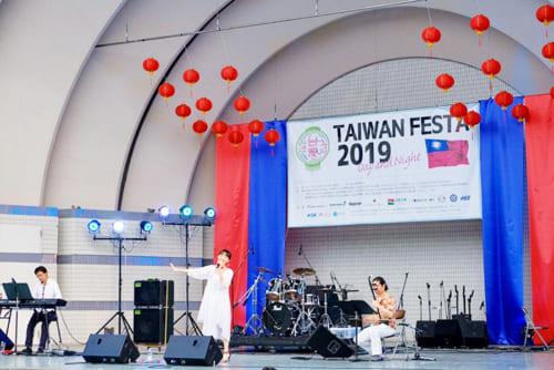 昨年7月に代々木公園で開催された「台湾フェスタ」。写真提供:洸美-hiromi-