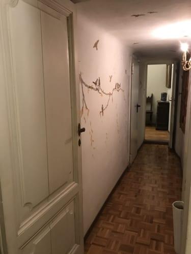 シヴィエロ邸に残る秘密の通路。