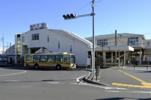 二宮駅、吾妻山はこの北口が近い