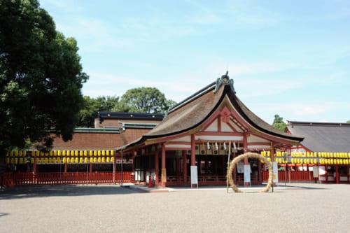 津島神社。弾正忠家隆盛の背景には同神社の役割が大きかった。それについては稿を改めたい。