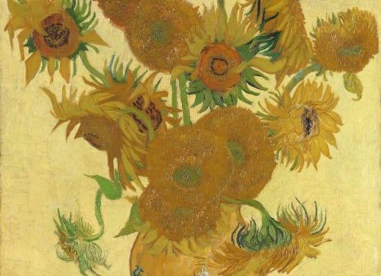 フィンセント・ファン・ゴッホ《ひまわり》1888年 油彩・カンヴァス (C)The National Gallery, London. Bought, Coutauld Fund, 1924