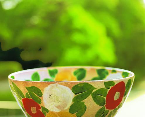 北大路魯山人作「つばき鉢」1938年