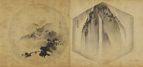 狩野惟信「倣古名画巻」(部分)江戸時代