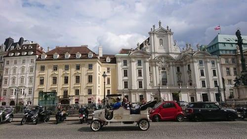 観光用乗り物の最新トレンドは、ハプスブルク時代末期のオールドタイマー