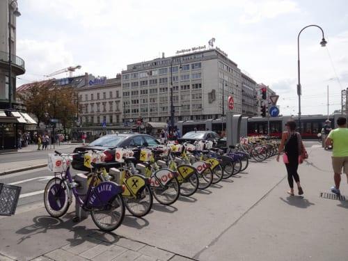 ウィーン市が提供している貸自転車サービス「City bike」