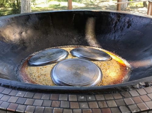 一度に調理する量が多いほど美味しいとされるプロフ