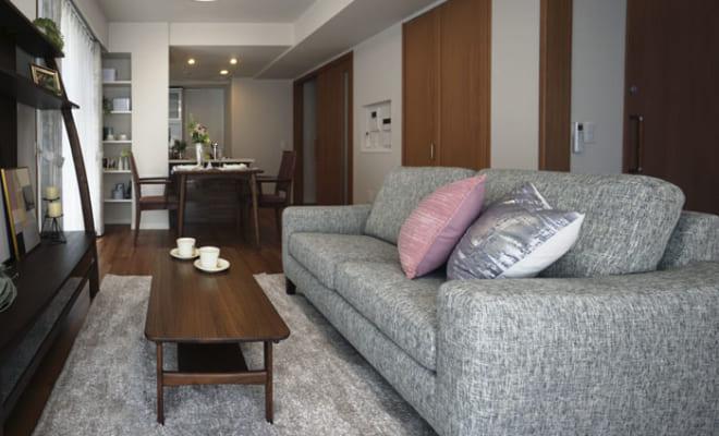 居室は35~75平方メートル、と広めに設定され、多彩なタイプが用意される。高齢者の暮らしやすさに配慮した設計が特徴だ。写真は66平方メートルの部屋。