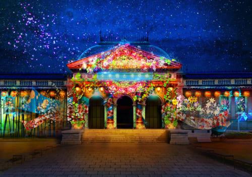 『光と食のアンサンブル2020 〜花宵の宴 Directed by NAKED〜』 京都国立博物館 3月6日~