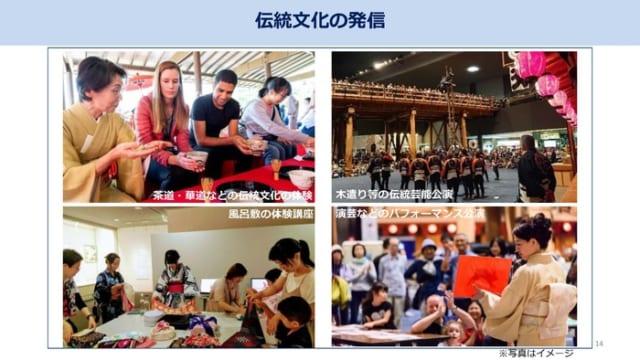 大会期間中には東京の伝統文化を発信する取り組みも計画されている。
