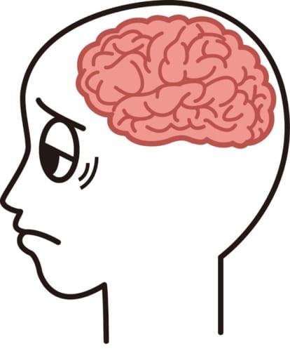 呼吸が浅くなると、脳や全身の血行が悪くなる
