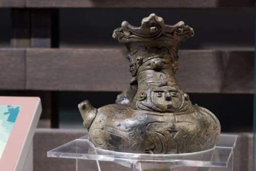 北斗市郷土資料館蔵の注口土器