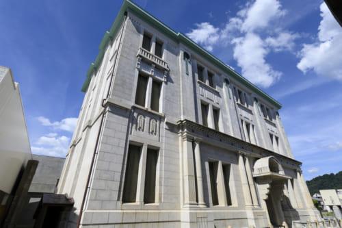 今は市立博物館になっている旧大和田銀行本店
