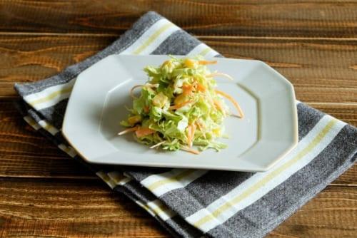 ゆず胡椒風味のコールスローサラダ