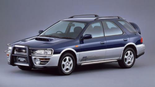 初代インプレッサをRV的にアレンジしたのがこの車。のちのXVやフォレスターのルーツだ。