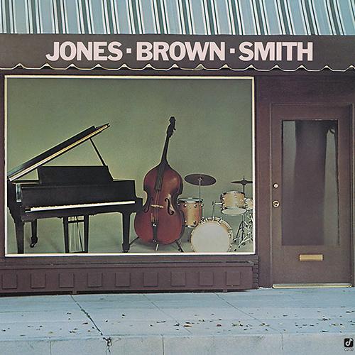 ハンク・ジョーンズ『ジョーンズ〜ブラウン〜スミス』(コンコード) 演奏:ハンク・ジョーンズ(ピアノ、エレクトリック・ピアノ)、レイ・ブラウン(ベース)、ジミー・スミス(ドラムス) 録音:1976年10月8日