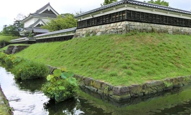 勝龍寺城は光秀の娘・玉(ガラシャ夫人)が藤孝の子・忠興のもとに嫁いだ城でもある