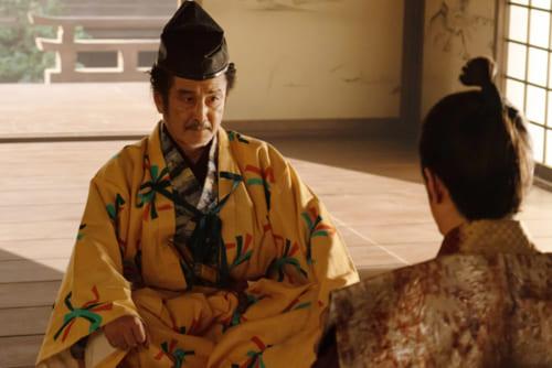 光秀が久しぶりに再会した松永久秀(演・吉田剛太郎)は、京都の町の行政を一手に引き受けて活躍していた。