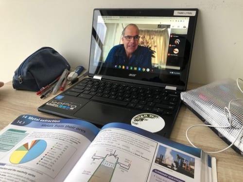 オンライン授業でも教科書を使う