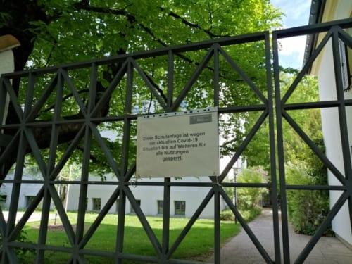 コロナ禍でバイエルン州の全幼稚園・学校は3月16日より閉鎖された。撮影/北野令子