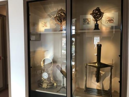 エイシンガの自宅を改装した博物館に残る天文観測器具